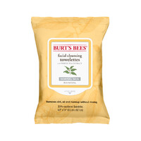 Burt's Bees Facial Cleansing Towelettes with White Tea Extract 30 - Pack