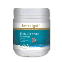 Herbs of Gold Odourless Fish Oil 1700