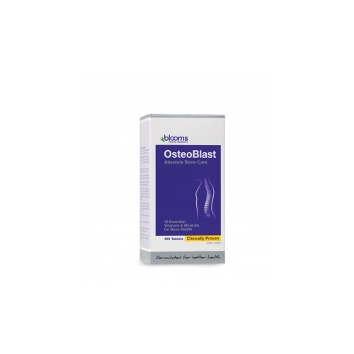 Blooms OsteoBlast Absolute Bone Care - 100 tablets