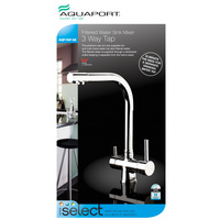 Aquaport Filtered Water Sink Mixer 3 Way Tap