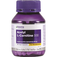 Blooms Acetyl L-Carnitine 500 - 60 capsules