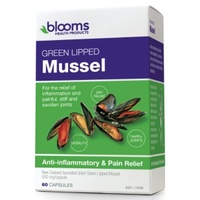 Blooms Green Lipped Mussel - 60 capsules