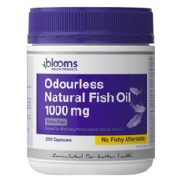 Blooms Omega 3 Odourless Natural Fish Oil 1000 mg - 200 capsules