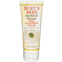 Burt's Bees Soap Bark and Chamomile Deep Cleansing Cream - 170g