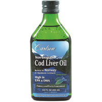 Carlson Cod Liver Oil - Unflavoured 250ml