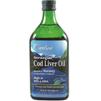 Carlson Cod Liver Oil - Unflavoured 500ml