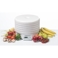 EziDri 5 Tray Food Dehydrator Ultra FD 1000 with 48 Hour Digital Timer