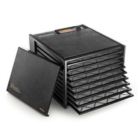 Excalibur 9 Tray Food Dehydrator (No Timer) - Black