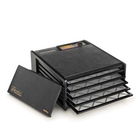 Excalibur 5 Tray Food Dehydrator (No Timer) - Black