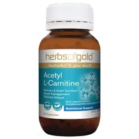Herbs of Gold Acetyl L-Carnitine - 60 vegetable capsules
