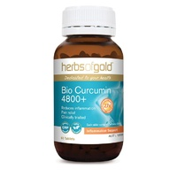 Herbs of Gold Bio Curcumin 4800+ - 60 tablets