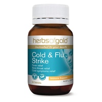 Herbs of Gold Cold and Flu Strike - 30 tablets