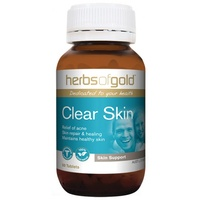 Herbs of Gold Clear Skin - 60 tablets