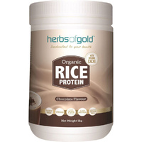 Herbs of Gold Organic Rice Protein - Chocolate 1kg