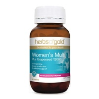 Herbs of Gold Women's Multi Plus Grapeseed 12000