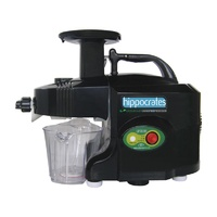 Greenpower Hippocrates Plus Twin Gear Juicer - Black