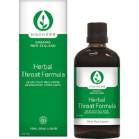 Kiwiherb Herbal Throat Formula - 50mL