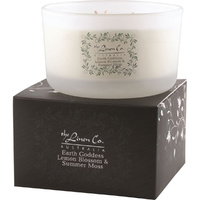 LinenCo Soy Candle - Earth Goddess (Lemon Blossom) 454g