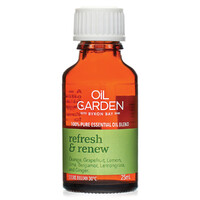The Oil Garden Refresh and Renew Essential Oil Blend - 25mL
