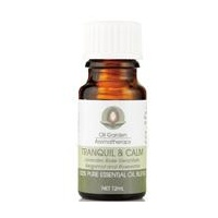 The Oil Garden Tranquil and Calm Essential Oil Blend - 12mL