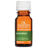 The Oil Garden Geranium Pure Essential Oil - 12mL
