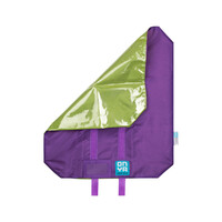Onya Reusable Sandwich Wrap - Purple with green lining