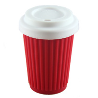 Onya Reusable Coffee Cup 340mL - Red