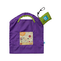 Onya Reusable Shopping Bag - Purple Garden Small