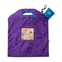 Onya Reusable Shopping Bag - Purple Garden Large