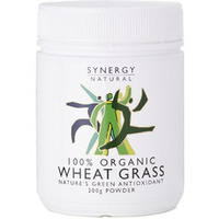 Synergy Natural Organic Wheat Grass Powder - 500g