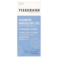 Tisserand Jasmine Absolute Dilution in Organic Jojoba - 9mL