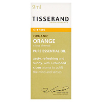 Tisserand Orange Organic Pure Essential Oil - 9mL