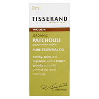 Tisserand Patchouli Organic Pure Essential Oil - 9mL