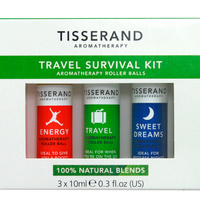 Tisserand Aromatherapy Roller Ball Travel Survival Kit