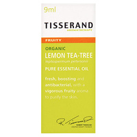 Tisserand Lemon Tea-Tree Organic Pure Essential Oil - 9mL