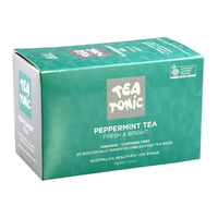Tea Tonic Organic Peppermint Tea - 20 Tea Bags