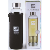 Tea Tonic Glass Tea Bottle w Tea Infuser Thermal Sleeve