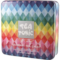 Tea Tonic Gourmet Tea Chest Deluxe - 63 Tea Bags