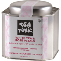 Tea Tonic Organic White Tea and Rose Petals