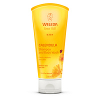 Weleda Baby Calendula Shampoo and Body Wash - 200mL