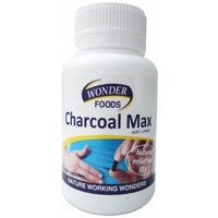 Wonder Foods Charcoal Max - 60 vegetable capsules