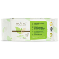 Wotnot Biodegradable Baby Wipes 70 Pack