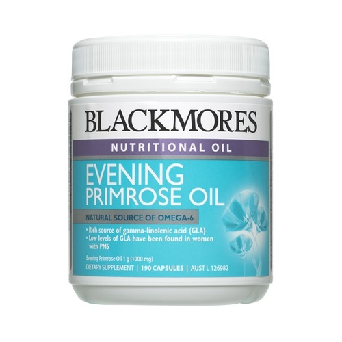 Blackmores Evening Primrose Oil - 190 capsules