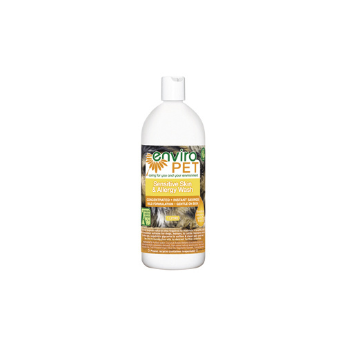 Enviropet Sensitive Skin and Allergy Wash - 1L