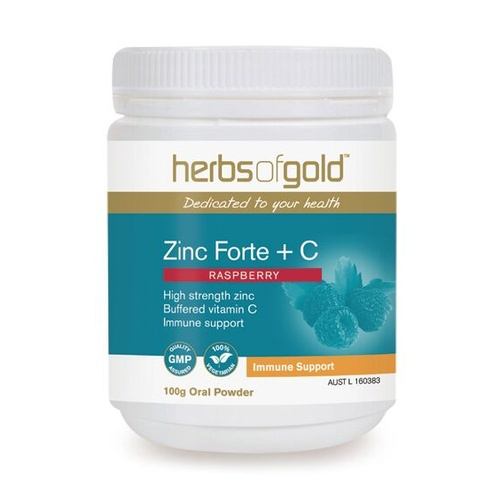 Herbs of Gold Zinc Forte Plus C - 100g