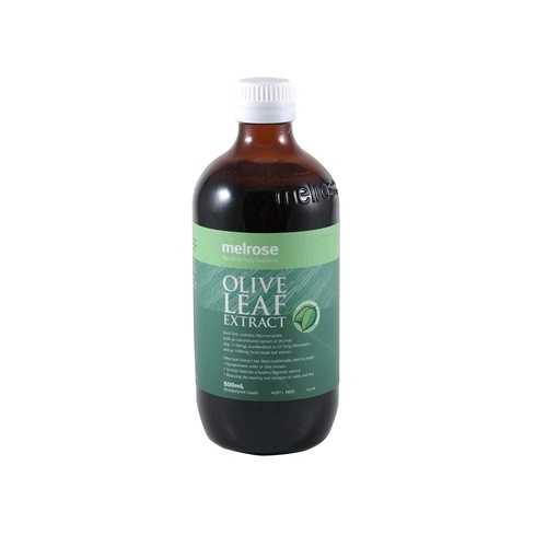 Melrose Olive Leaf Extract Peppermint - 500mL
