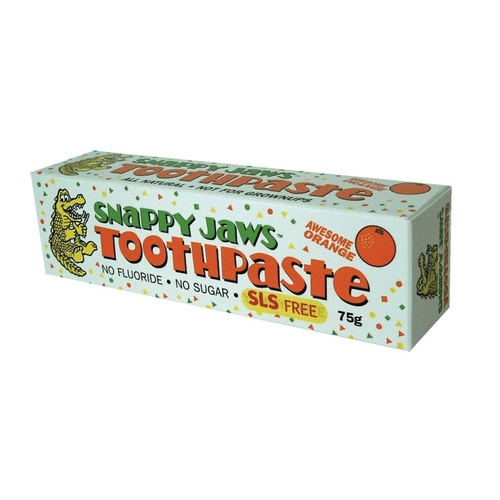 Nature's Goodness Snappy Jaws Orange Kids Toothpaste - 75g