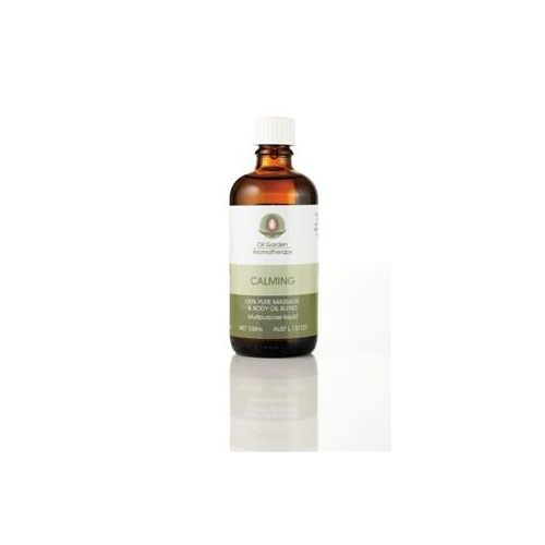 The Oil Garden Calming Massage Oil - 100mL