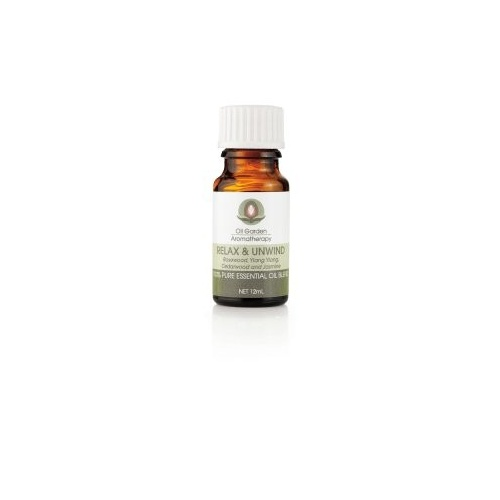 The Oil Garden Relax and Unwind Essential Oil Blend - 12mL