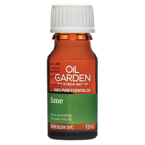 The Oil Garden Lime Pure Essential Oil - 12mL